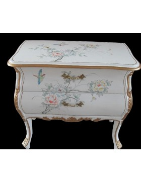 Commode chinoise laquée - meuble chinois laqué