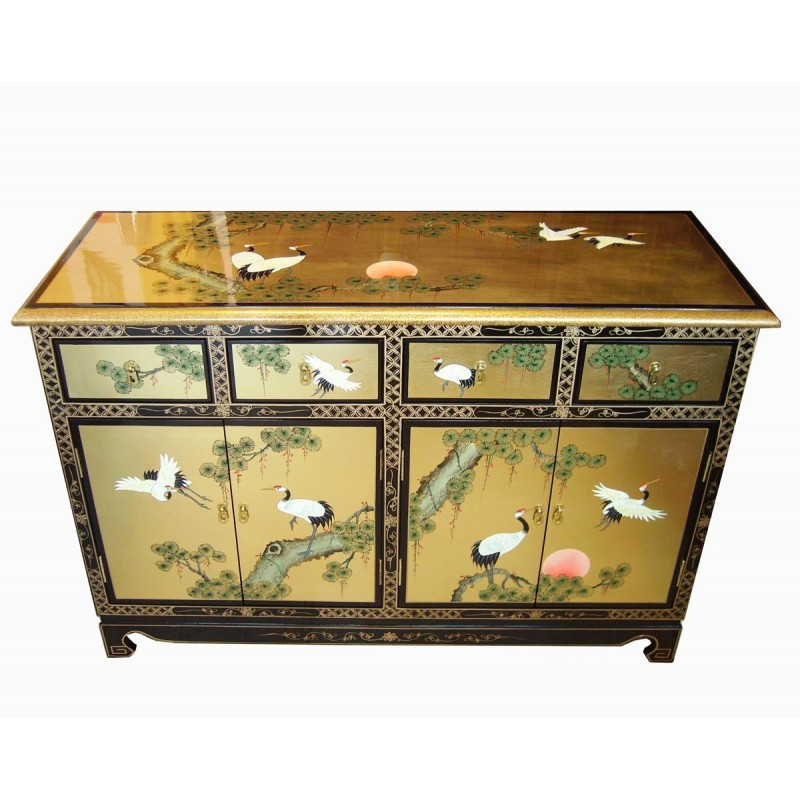 buffet chinois laqu d cor meuble chinois laqu. Black Bedroom Furniture Sets. Home Design Ideas