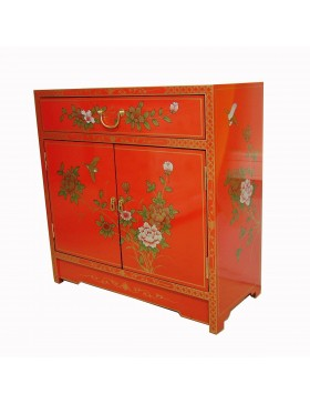 buffet chinois laqu rouge meuble chinois laqu. Black Bedroom Furniture Sets. Home Design Ideas