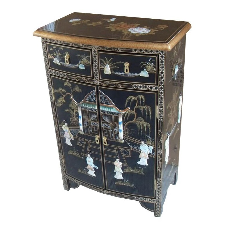 meuble d 39 entr e chinois laqu meuble chinois laqu. Black Bedroom Furniture Sets. Home Design Ideas