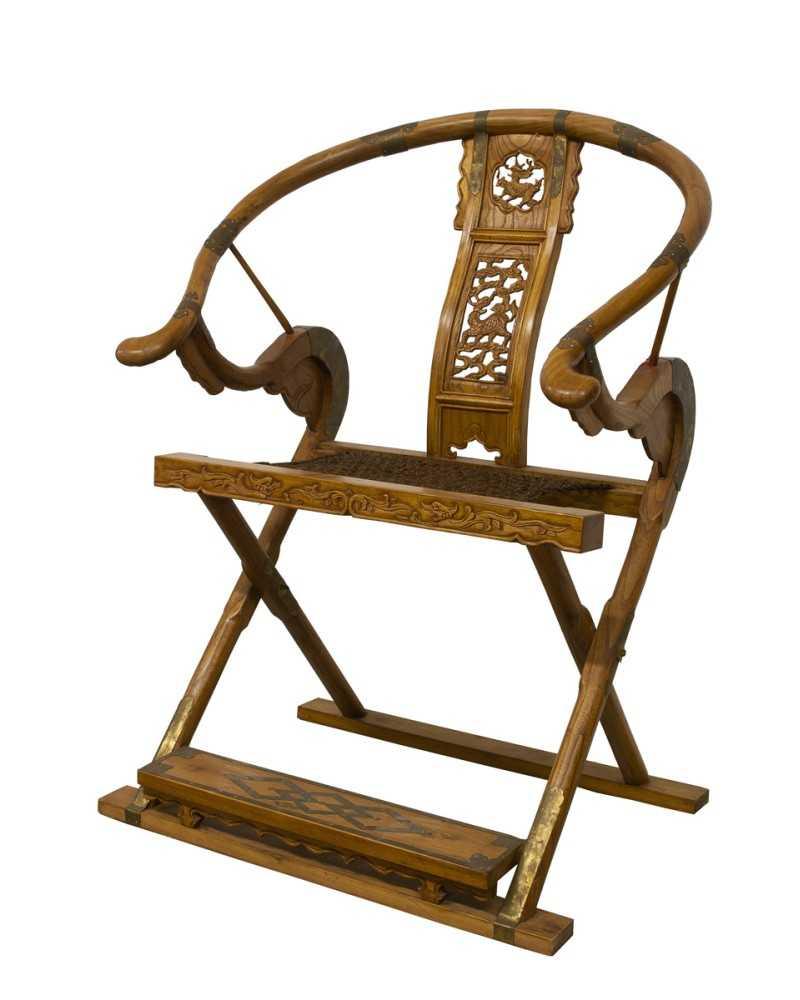 Eventail d 39 asie orange avec dragon d coration asiatique for Decoration asie