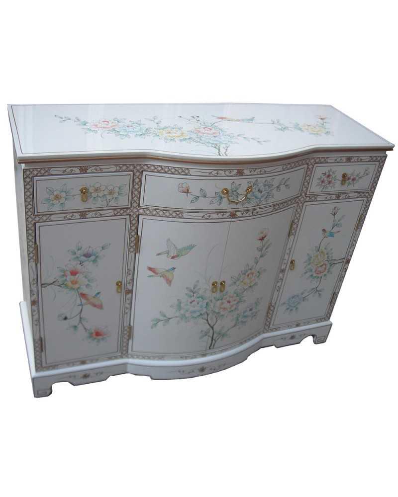 Meuble d'appoint tibétain Shigatsé - meuble tibétain
