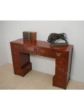 Console chinoise rouge