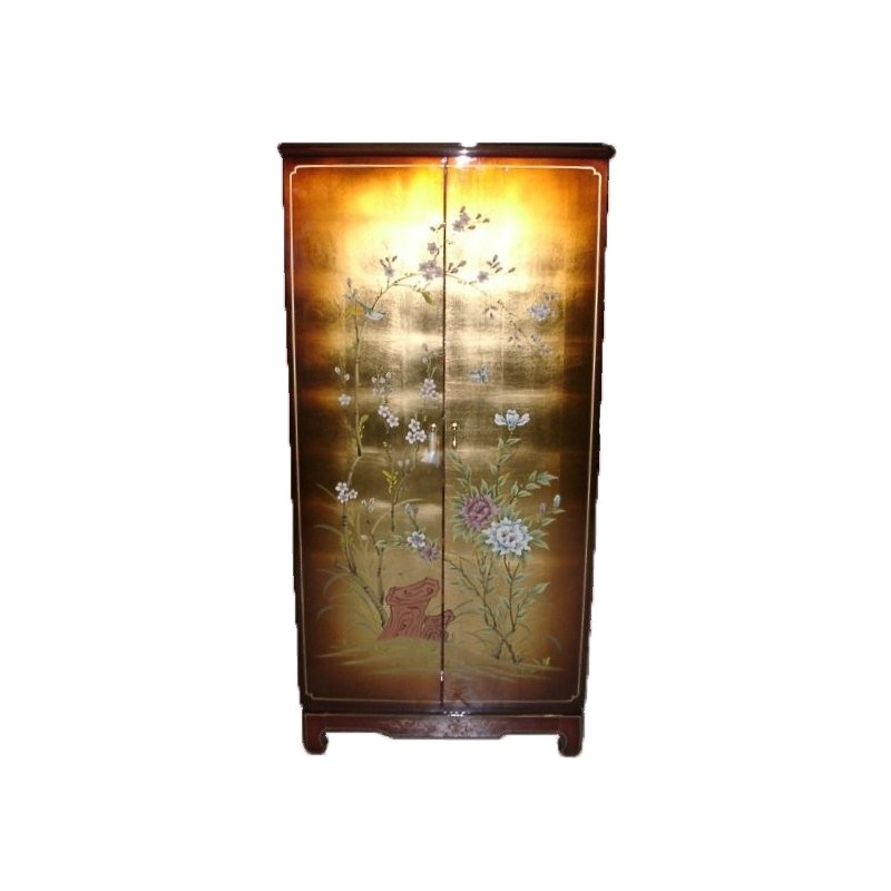 Armoire chinoise laqu e meuble chinois laqu for Meuble chinois laque