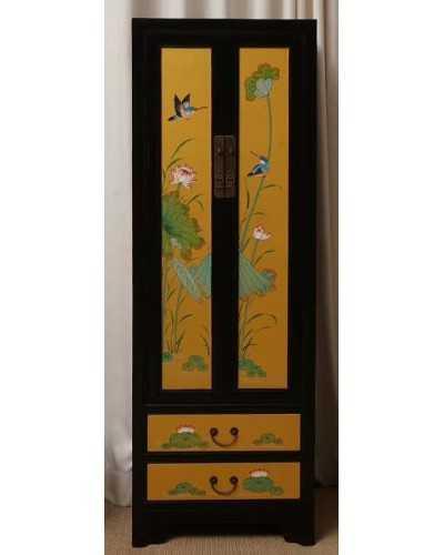 Bahut chinois de cuisine en bois ancien