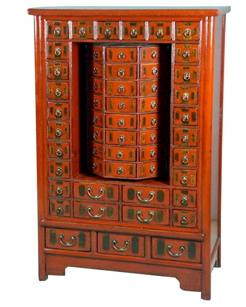 Grainetier chinois type meuble à prière