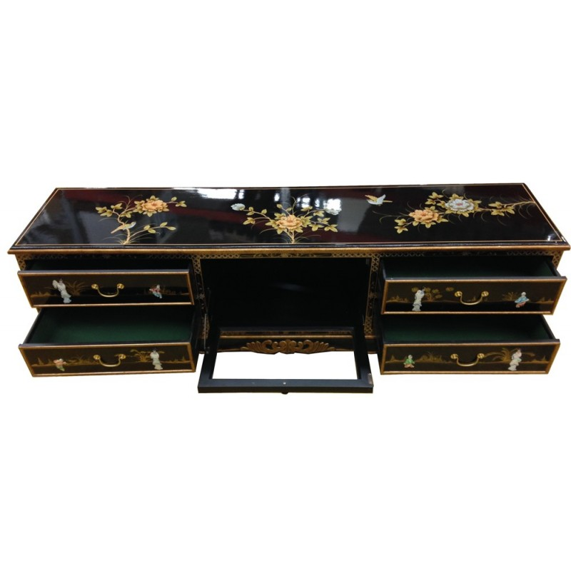 meubles tv chinois laqu s. Black Bedroom Furniture Sets. Home Design Ideas