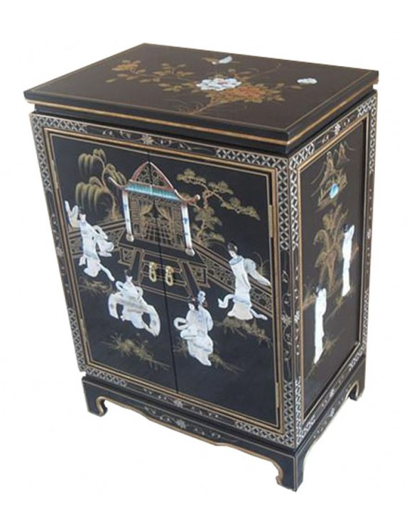 buffet chinois laqu meuble laqu. Black Bedroom Furniture Sets. Home Design Ideas