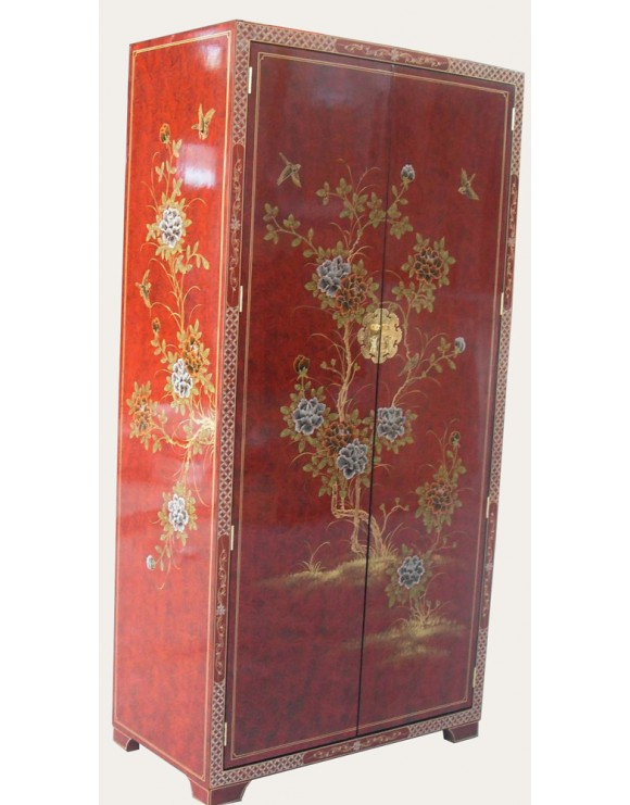 Armoire chinoise laquée penderie