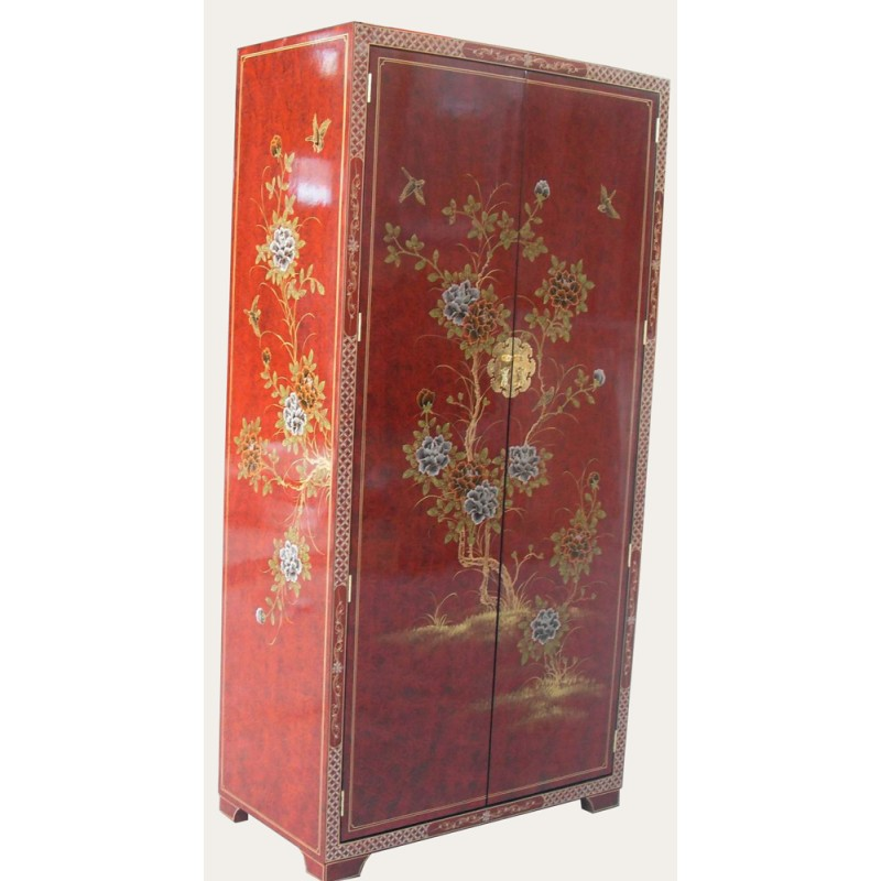 Armoire chinoise laquée penderie - mobilierdasie.com