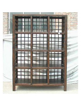 etag re chinoise 12 casiers. Black Bedroom Furniture Sets. Home Design Ideas