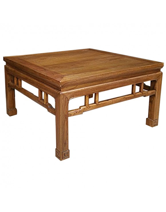 Table basse chinoise en orme