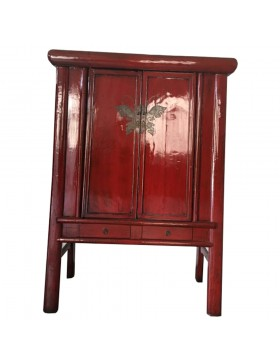 Armoire chinoise papillon ancienne