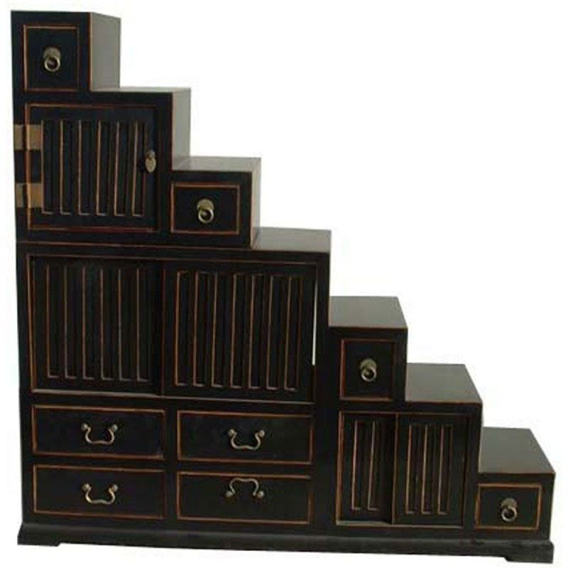 escaliers chinois. Black Bedroom Furniture Sets. Home Design Ideas