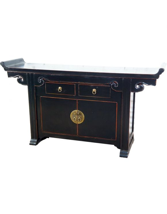 Buffet chinois pagode rouge