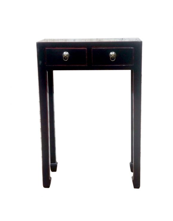 Console chinoise noire - meubles chinois